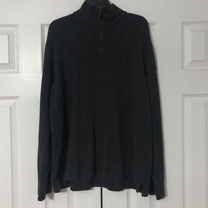 Men's 1/4 Zip Sweatshirt — size XL